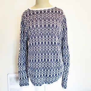 Ann Taylor Loft 100% Linen Sweater